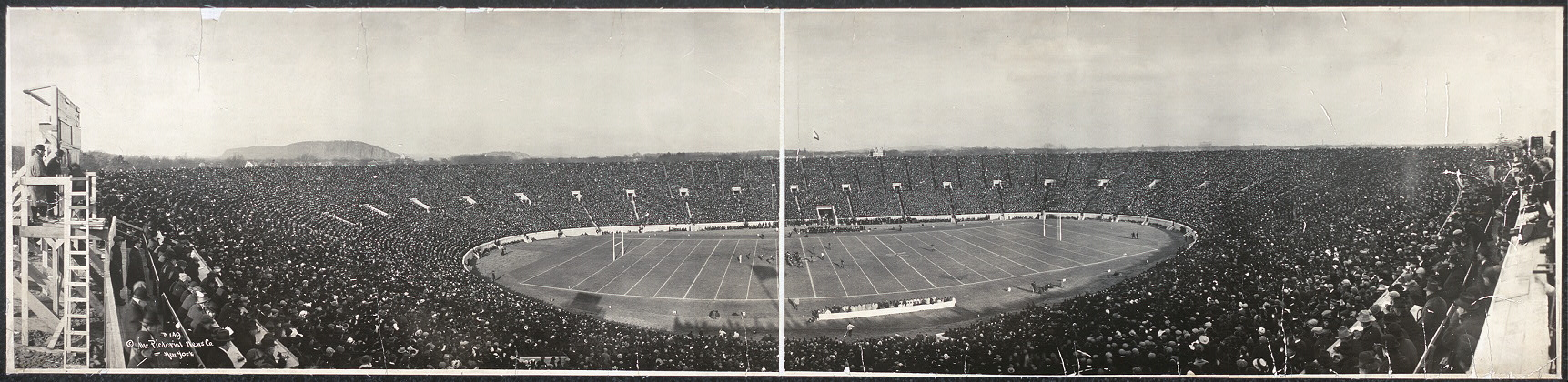 [Yale - Harvard football game, 1914]