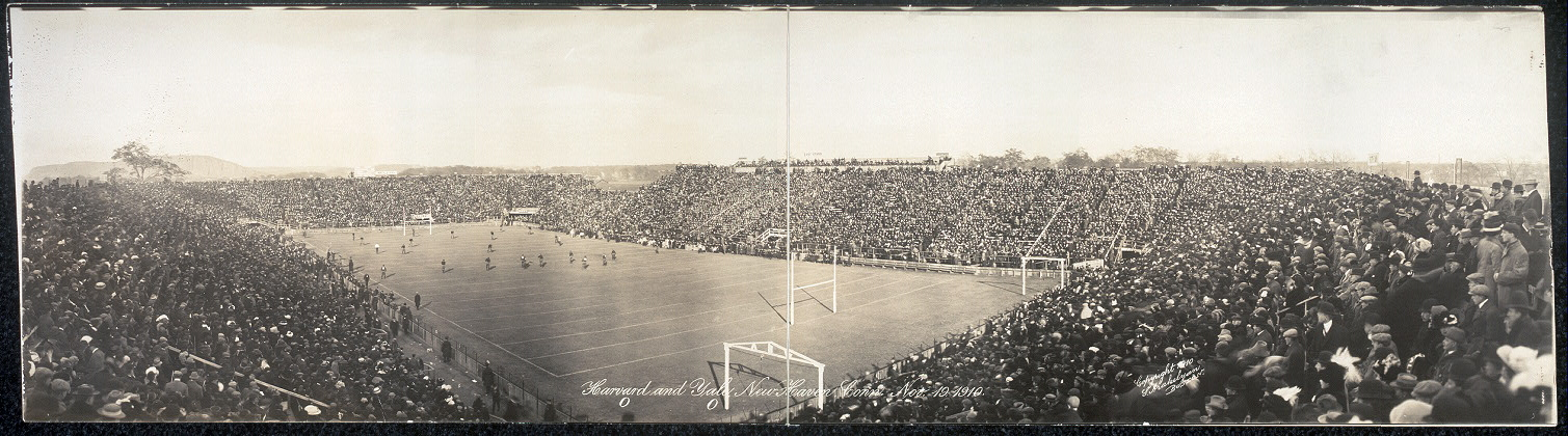 Harvard 0 and Yale 0, New Haven, Conn., Nov. 19, 1910