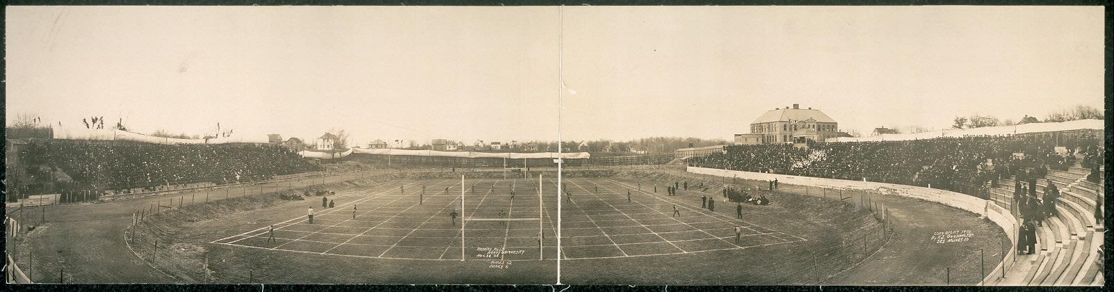 Haskins field, Drake University, Nov. 26, '08, Ames 12, Drake 6