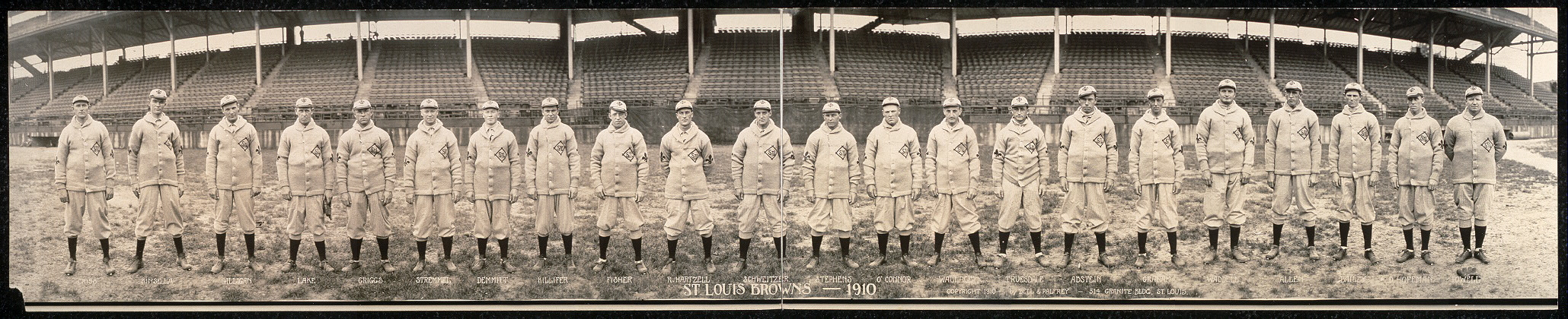 St. Louis Browns, 1910