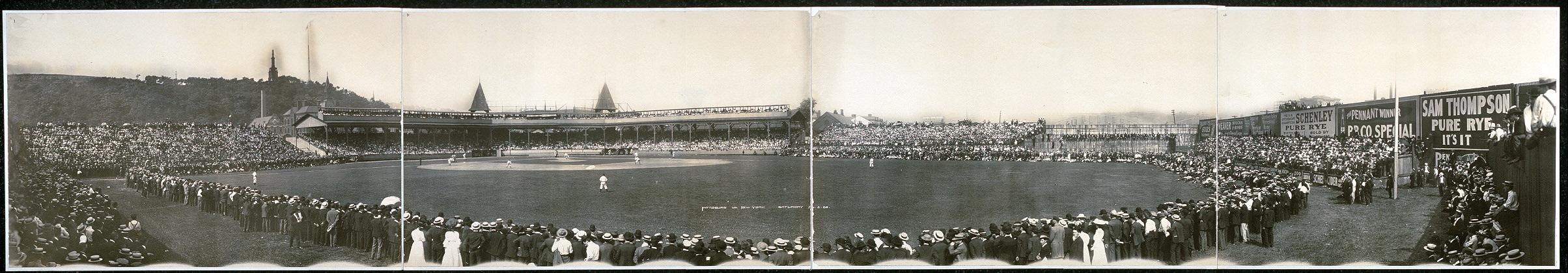Pittsburg vs. New York, Saturday, Aug. 5, 1905