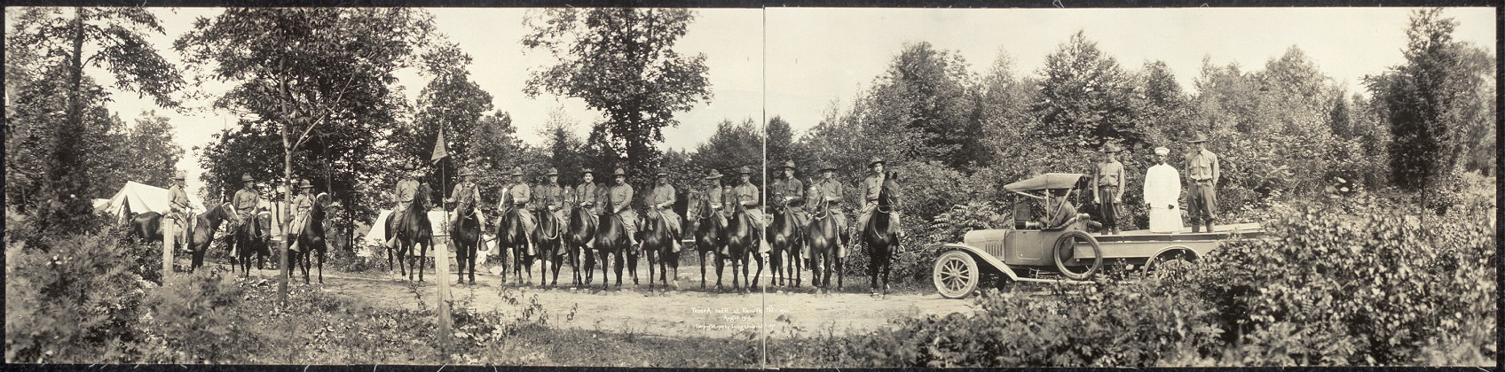 Troop A, N.J.R. at Denville, N.J., Aug. 10, 1919