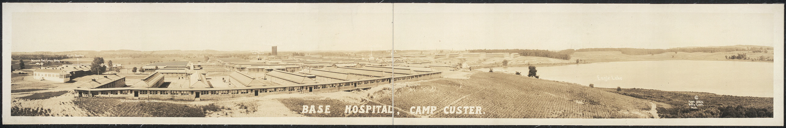Base Hospital, Camp Custer