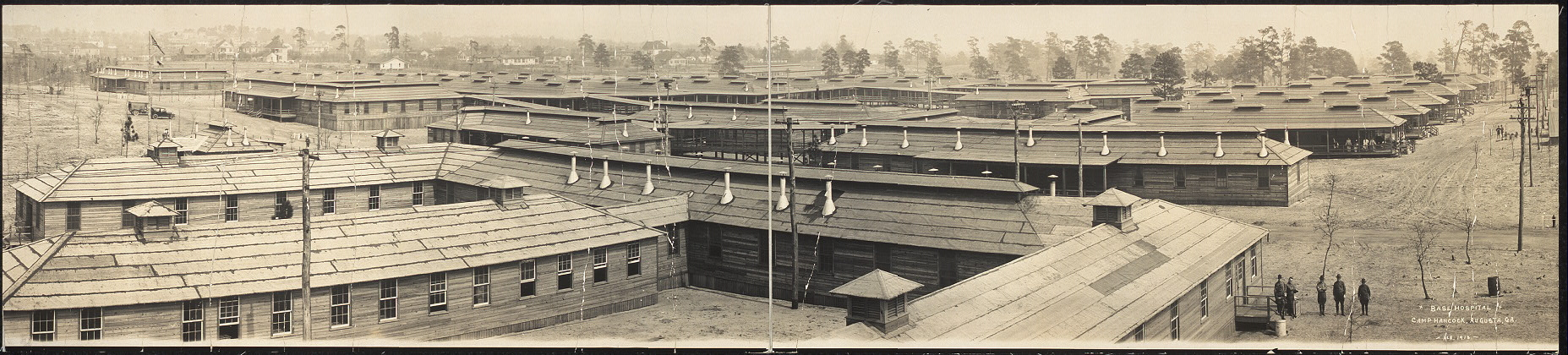Base Hospital, Camp Hancock, Augusta, Ga., Feb. 1918