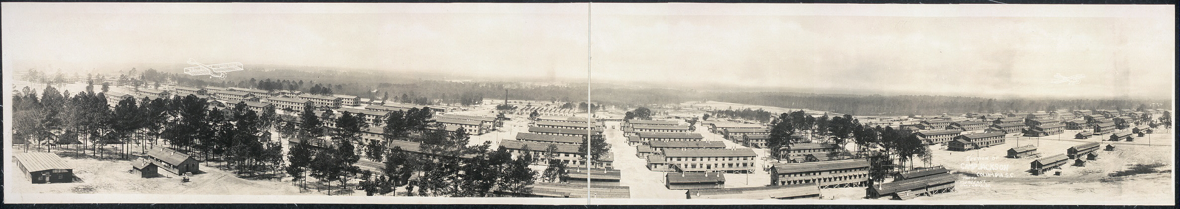 Section of Camp Jackson, Columbia, S.C.