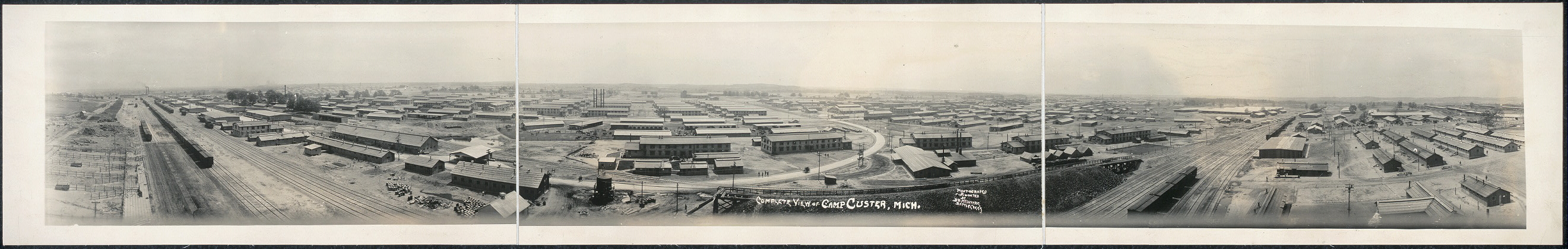 Complete view of Camp Custer, Mich.