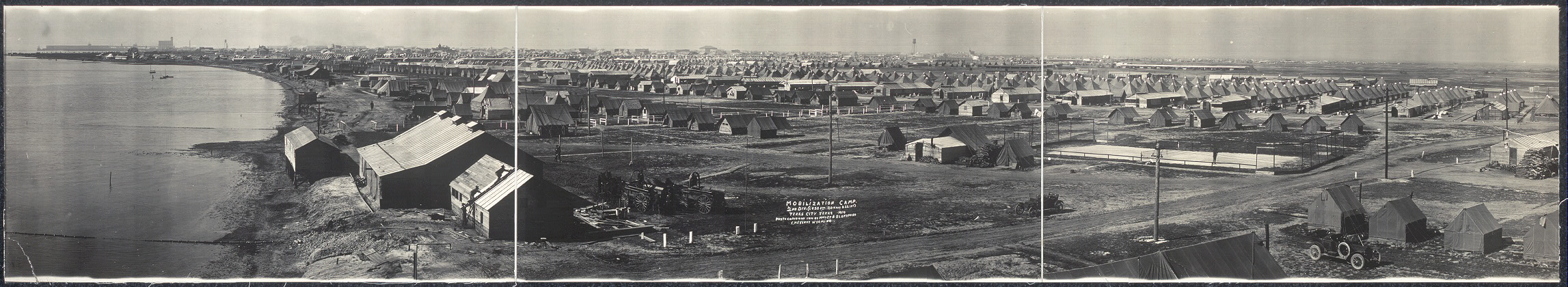 Mobilization Camp, 2nd Div. (less 5th Brigade & 22 Inf.), Texas City, Texas, 1914