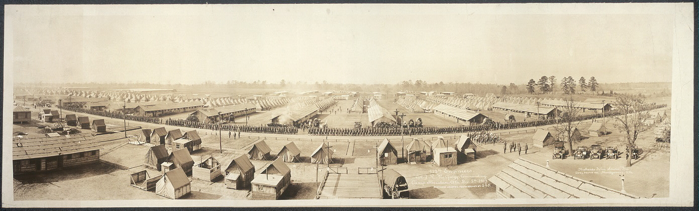 112th Engineers, Col. J. R. McGuigg, commanding, Camp Sheridan, Ala., Dec. 5th, 1917
