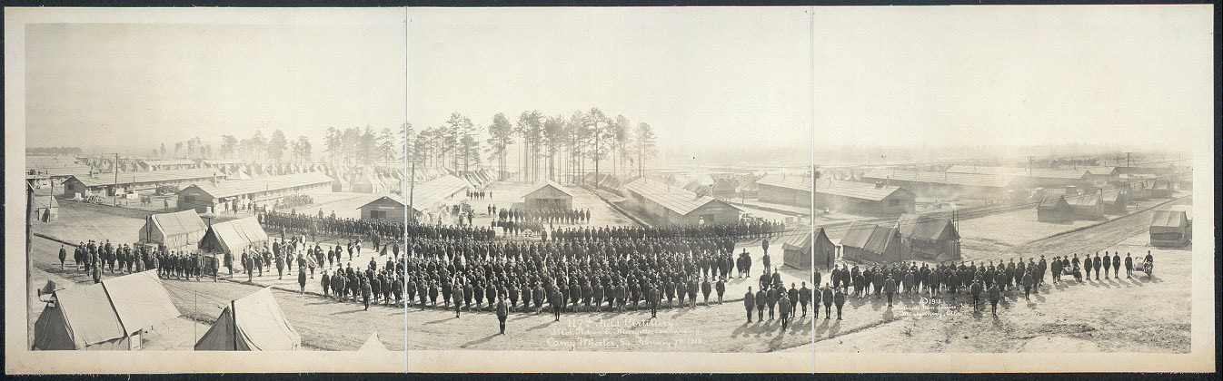 117th Field Artillery, Lt. Col. Nelson E. Margetts, commanding, Camp Wheeler, Ga., February 7th, 1918