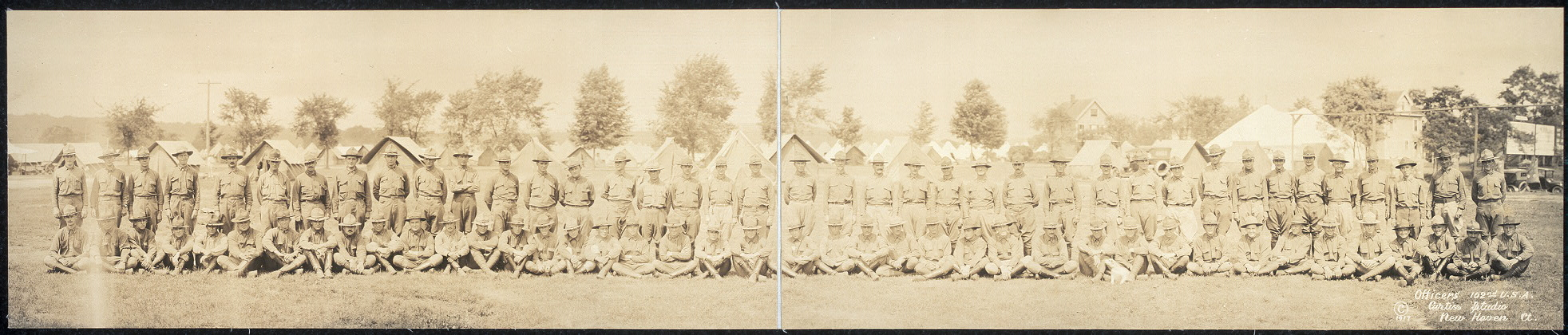 Officers, 102nd U.S.A.