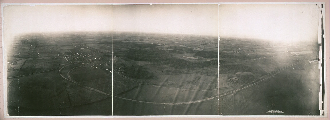 Bird's-eye view, Rockefeller, Ill.