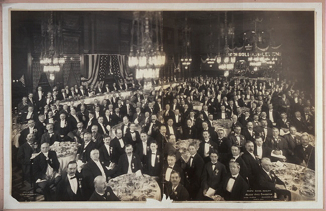 Fourth Annual Banquet, Millers' Mass Convention, Hotel Pfister, Milwaukee, Wis., June 22, 1906
