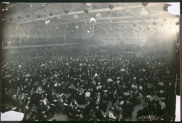 Interior of the Hippodrome, Milwaukee, Wis.