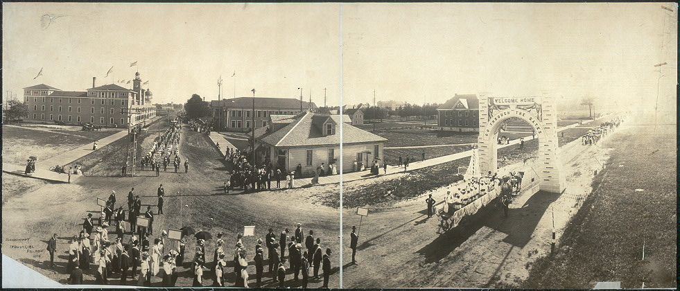 Industrial parade, July 1904, Zion City, Ill.