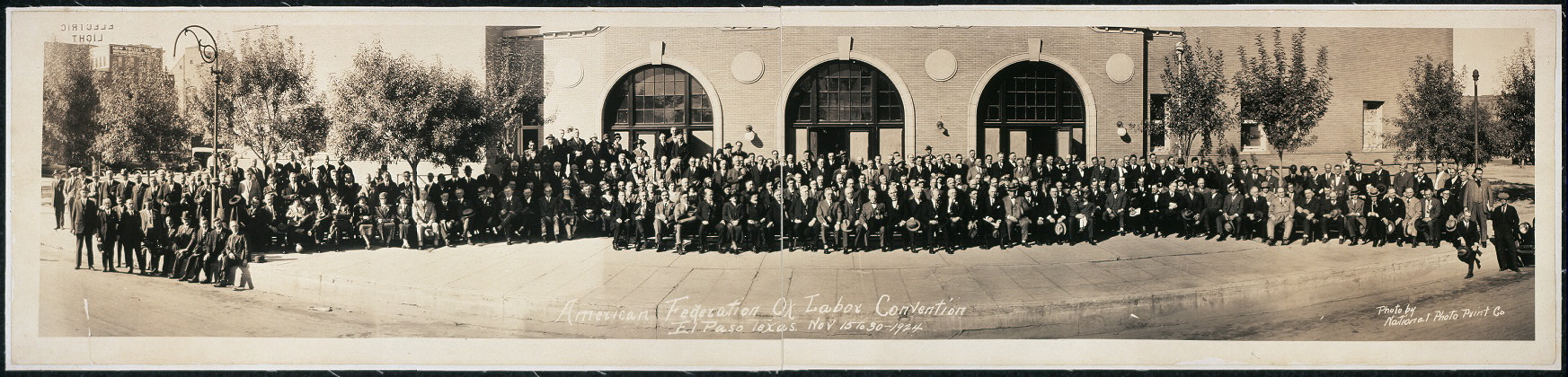 American Federation of Labor Convention, El Paso, Texas, Nov. 15 to 30, 1924