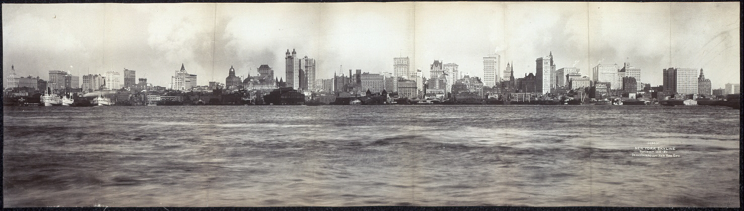 1902, New York skyline