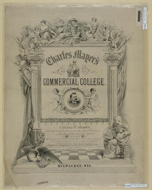 Charles Mayer's commercial college