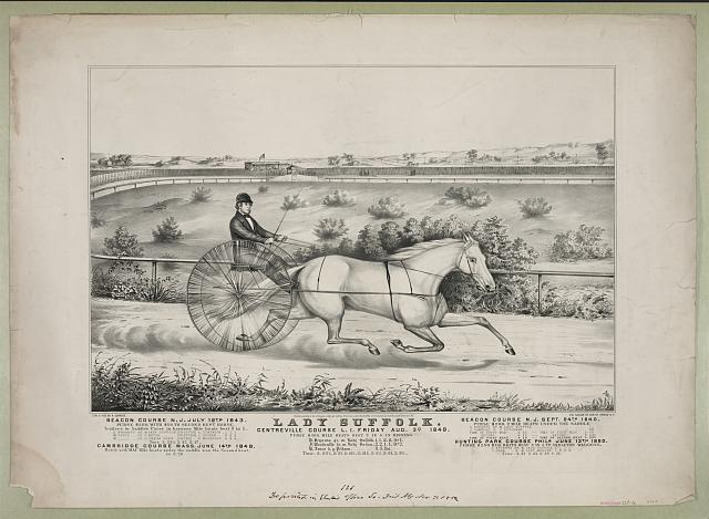 Lady Suffolk, Centreville Course, L.I., Friday, Aug. 3, 1849