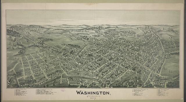 Washington, Pennsylvania, 1897