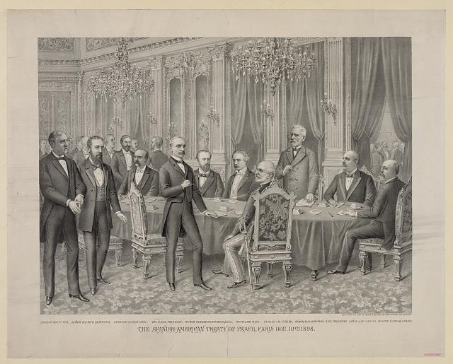 Spanish-American Treaty of Peace, Paris Dec. 10th 1898