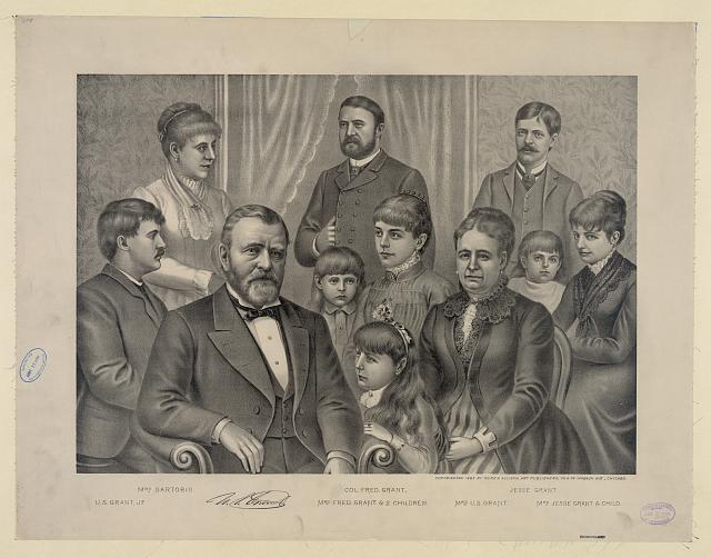 [U.S. Grant and family]