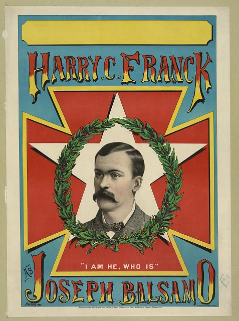 Harry C. Franck as Joseph Balsamo