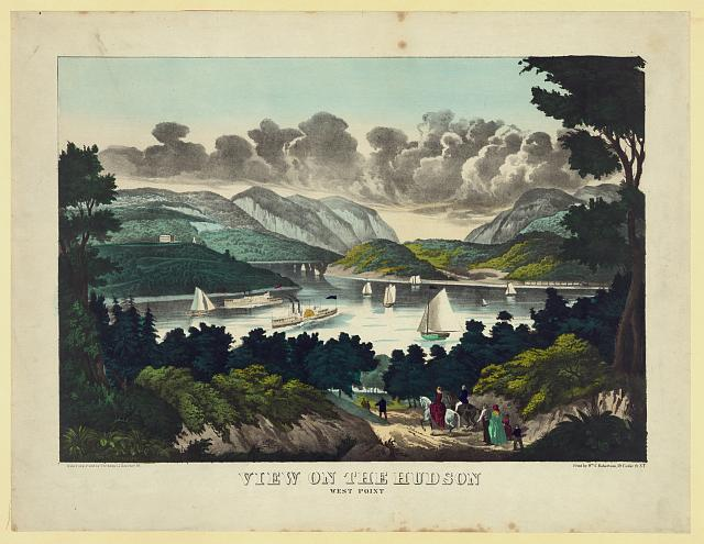 View on the Hudson, West Point