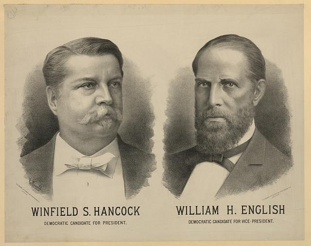 Winfield S. Hancock. Democratic candidate for President. William H. English. Democratic Candidate for Vice-President