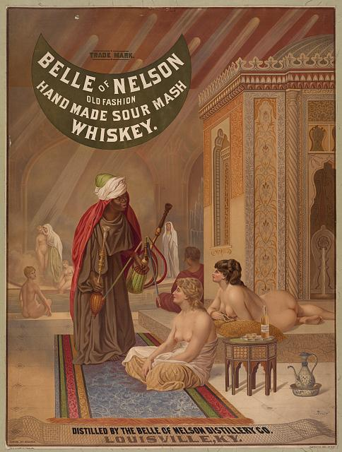Belle of Nelson. Old fashion. Home made sour mash. Whiskey
