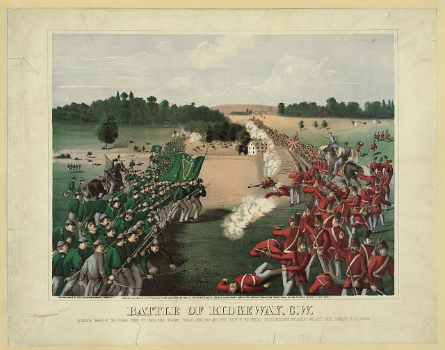 Battle of Ridgeway, C.W.