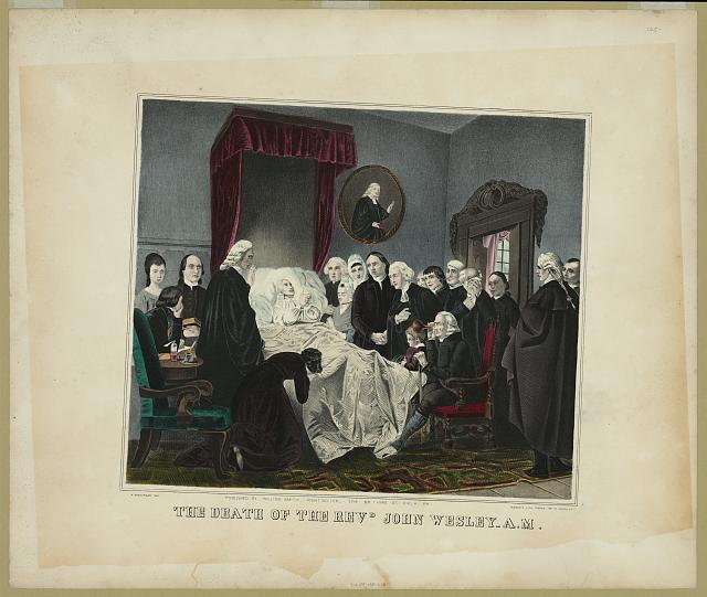 The death of the Revd. John Wesley A.M.