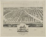 Bird's eye view of Ocean Grove New Jersey 1881
