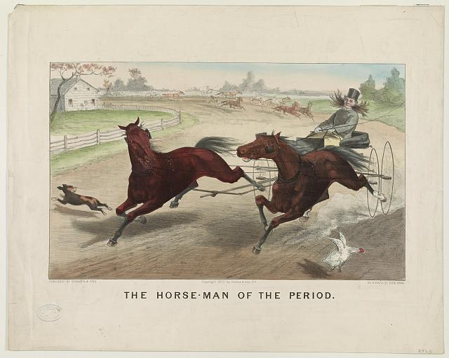 The horse-man of the period