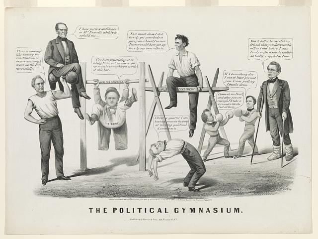 The political gymnasium