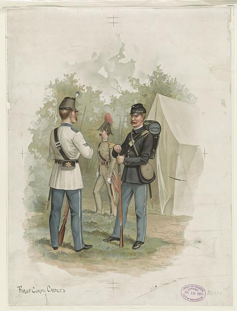 First corps cadets