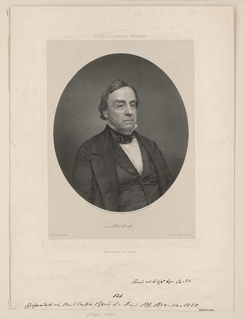 Gallery of illustrious Americans. Lewis Cass