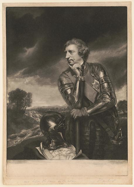 [Sir Jeffery Amherst] [Knight of the most honorable Order of Bath, ...] /