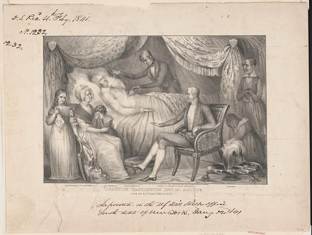 Death of Washington Dec. 14. AD. 1799