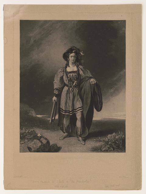 [Henry Phillips, full-length portrait as character in an opera]