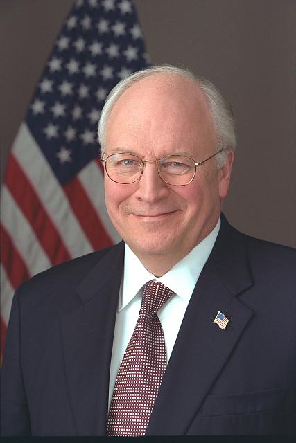 [Official portrait of Vice President Cheney taken in the Roosevelt Room]