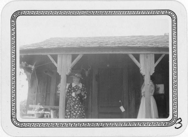 Mrs. Elizabeth Fulks at her home in Stanton, Texas