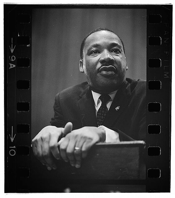 Martin Luther King press conference
