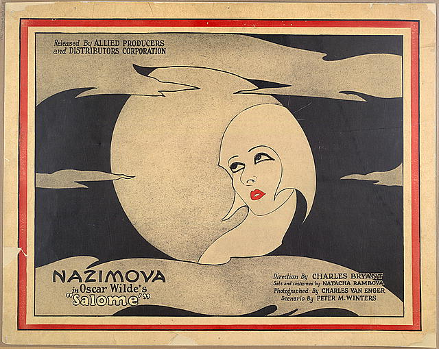 motion picture poster of Salome