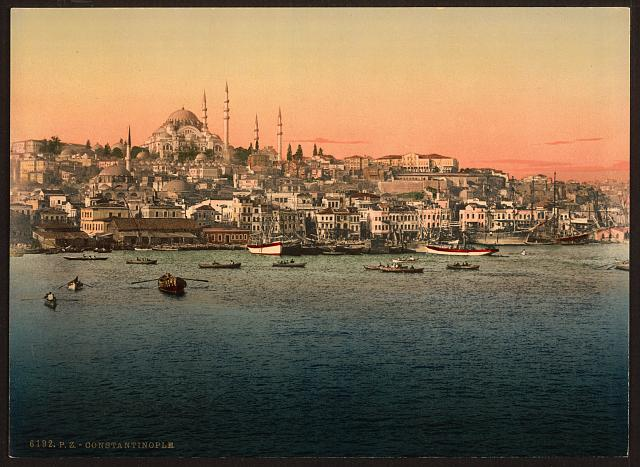 [View from the bridge, Constantinople, Turkey]