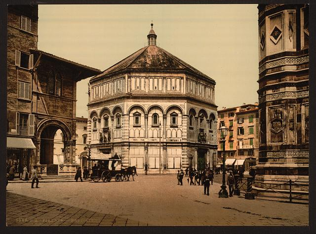 [The Baptistry, Florence, Italy]