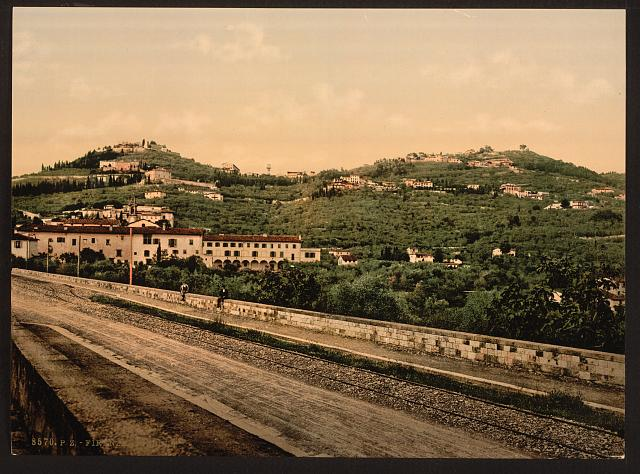 [Railroad, Florence, Italy]