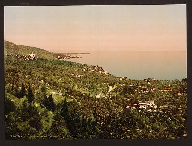 [The bay, Gardone, Lake Garda, Italy]