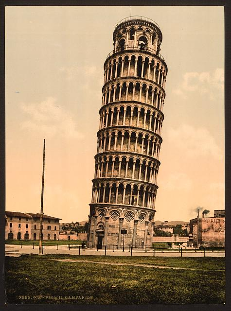 [The Leaning Tower, Pisa, Italy]