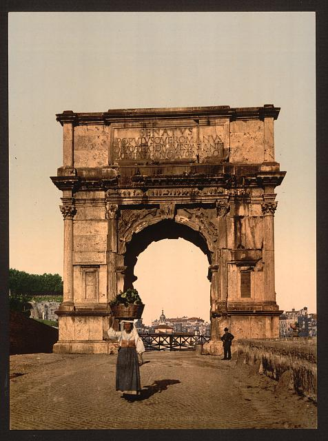 [Triumphal Arch of Titus, Rome, Italy]