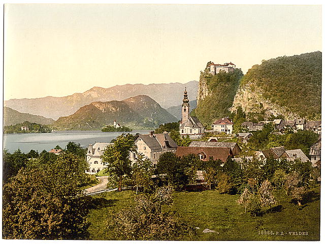 [Veldes, general view, Carniola, Austro-Hungary]